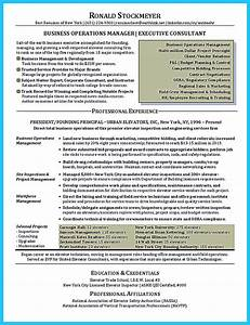 Simple Sample Resume The Most Excellent Business Management Resume Ever