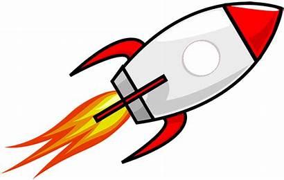 Rocket Clipart Cartoon Ship Rockets Transparent Michigan