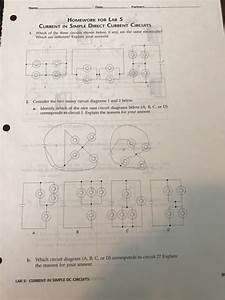 Solved  Partrer Homework For Lab 5 Current In Simple Direc