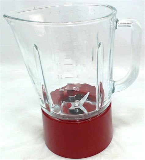 W10279533  Kitchenaid Blender Glass Jar Assembly Red