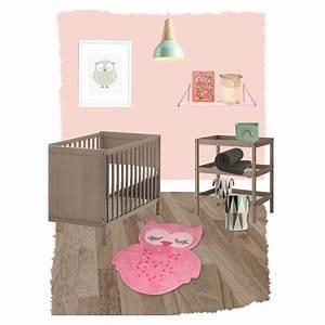 Tapis Chambre D Enfant : tapis hibou sweet pepa rose pour chambre d 39 enfant ~ Teatrodelosmanantiales.com Idées de Décoration