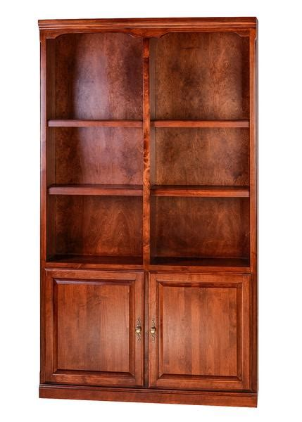 forest designs traditional alder bookcase 48w x 13d