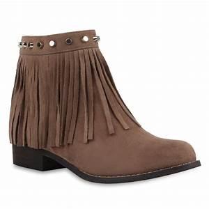 Stiefeletten Mit Fransen : damen stiefeletten fransen boots wildlederoptik schuhe 77634 new look ebay ~ Frokenaadalensverden.com Haus und Dekorationen