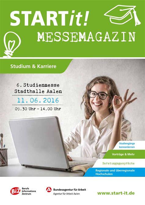 STARTit! Studium by Medienwerkstatt Ostalb - Issuu