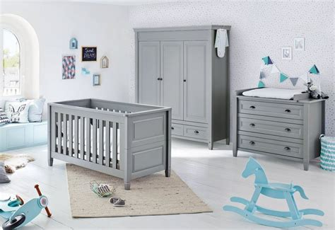 Pinolino Babyzimmer Set (3tlg) Kinderzimmer »grisu« Breit