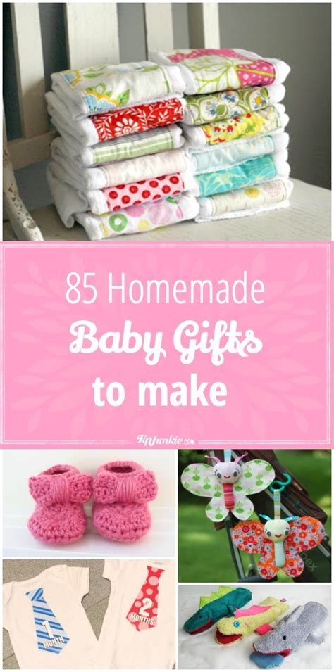 gifts to make 85 baby homemade gifts to make tip junkie