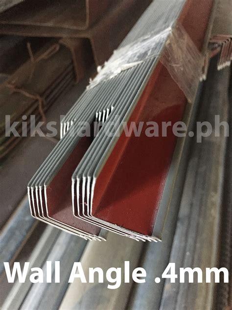 metal furring wall angle mm mm  clip pick