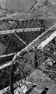 In For Repair Portnoo Donegal BW Photograph by Eddie Barron