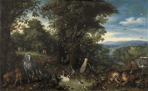 El Jardín Del Edén  Brueghel I, Jan (el Viejo) Museo