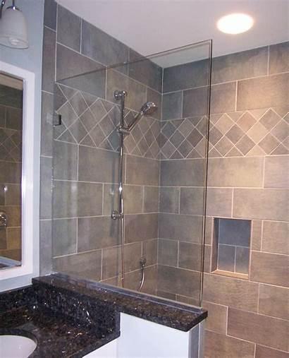 Panel Spray Frameless Shower Door