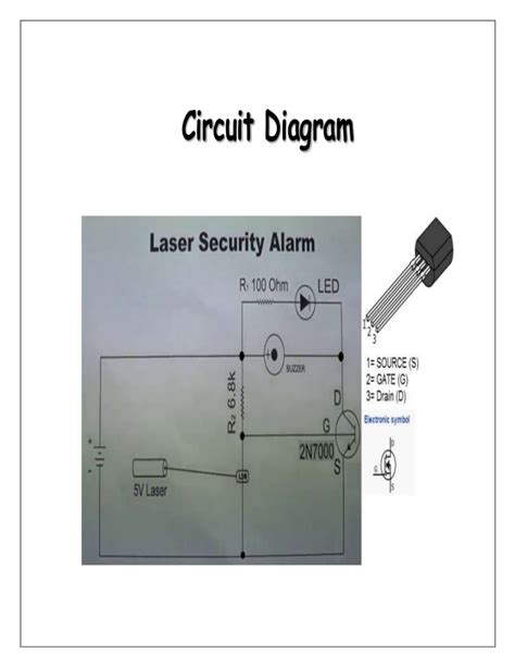 Laser Security Alarm Physics Investigatory Project