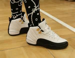 Jordan Retro 12 Taxi On Feet