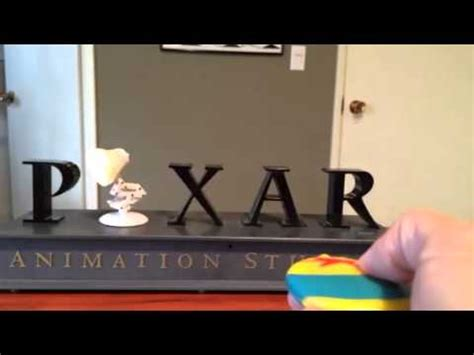 pixar disney luxo jr thinkway toys collectible youtube