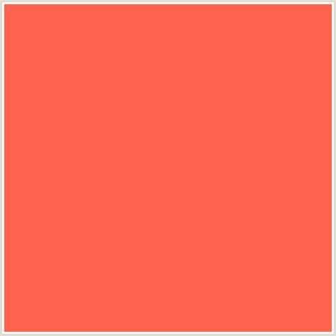 color persimmon ff634d hex color rgb 255 99 77 persimmon red