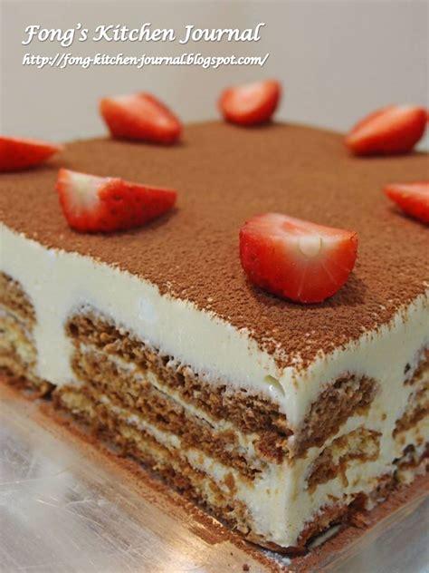 fongs kitchen journal tiramisu cake
