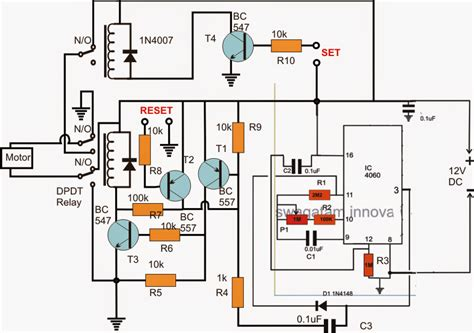 How Build Reverse Forward Motor Timer Circuit For