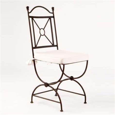chaise en fer forge chaise en fer forgé tina 4 pieds tables chaises et