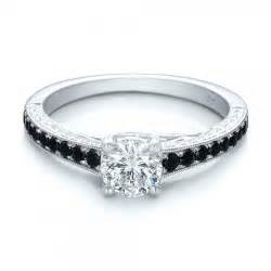 black engagement rings custom black engagement ring 100665 bellevue seattle joseph jewelry