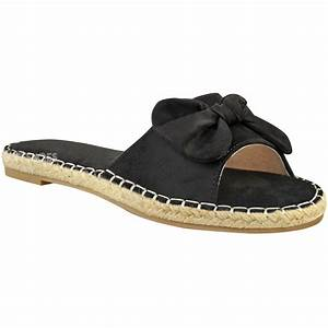New Womens Ladies Comfy Sliders Flats Shoes Slides ...