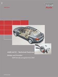 Ssp254 Audi A4 U0026 39 01 Technical Features