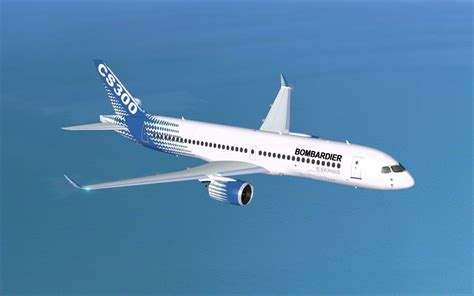 Bombardier House Colors CSeries CS300 for FSX