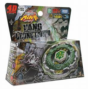 Genuine #BB106 Fang Leone 130W2D 4D Beyblades Japanese ...