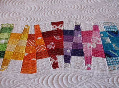 Patchwork Muster Modern by Creative Quilting By Debbie Stanton Modern Quilt Texture