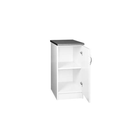 meuble bas de cuisine dina 30 cm 1 porte 1 étagère