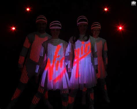 Brand Displaying Dancers In Dubai  2id Events