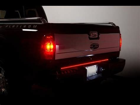light strips for trucks ijdmtoy led truck tailgate light strip vs generic led