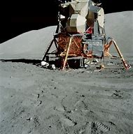 Apollo 17 Lunar Module On Moon