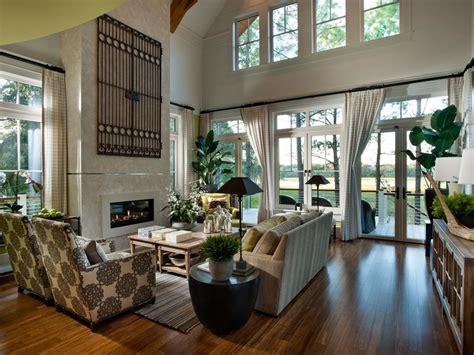 patio window curtains vaulted ceiling living room design ideas