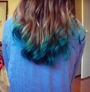 Blaue Haare Ombre : medium blond blue green haare co pinterest haarfarben farben und frisuren ~ Frokenaadalensverden.com Haus und Dekorationen