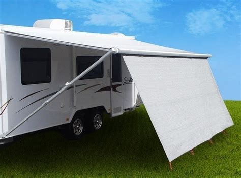 rv awning sunscreen 4 9m coast caravan privacy screen 5m sunscreen sun shade