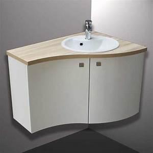 Meuble Vasque Angle : meubles de salles bains leroy merlin galerie et meuble ~ Teatrodelosmanantiales.com Idées de Décoration
