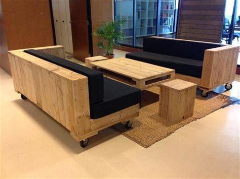 faire un canapé avec des palettes des idées de réalisation de canapé en palette décoration