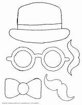 Booth Props Parents Fancy Coloring sketch template