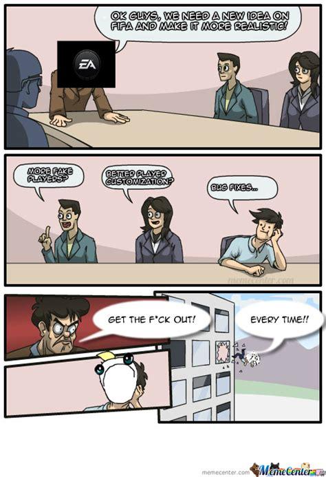 Ea Memes - ea improving fifa by hamjam meme center