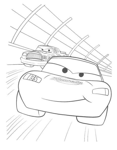 disegni da colorare di cars saetta saetta fulmine disegno