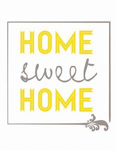 Home Sweat Home : 7 best images of sweet home printable free printable home sweet home sign home sweet home ~ Markanthonyermac.com Haus und Dekorationen