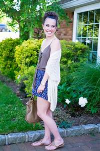 Easy Summer Outfit Kimono + Shorts | MrsCasual