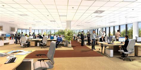 am駭agement bureau open space how open plan office space design affects employee s productivity fortuneprops