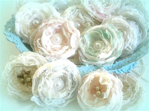 shabby fabric tutorial shabby chic flower tutorial tattered chic blooms youtube