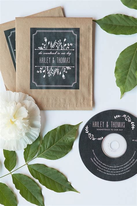 Wedding Favor Friday Cd Favors