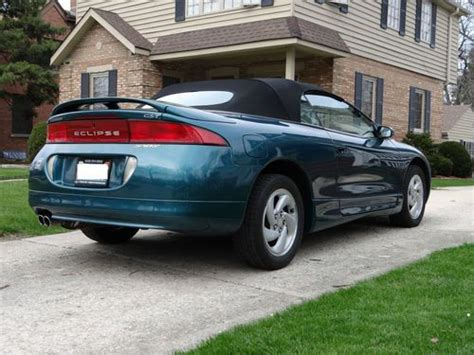 1996 Mitsubishi Eclipse Engine by Sell Used 1996 Mitsubishi Eclipse Gst Spyder Convertible 2