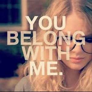 Taylor Swift 'You Belong With Me' Fan video - YouTube