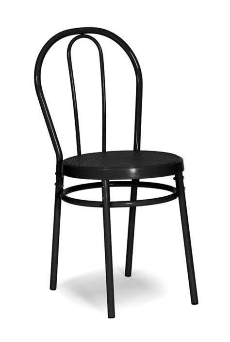 chaise de bistrot chaise bistrot noir