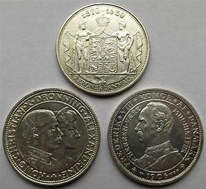 Denmark - 2 Kroner (3 different coins) 1906/1930 - Catawiki