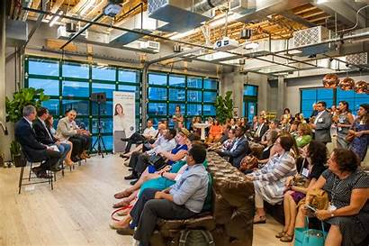 Wework Event Workplace Kitchen Talk Bread Place