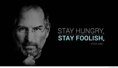 Quotes Jobs Steve Wallpapers Sayings Inspirational Stay